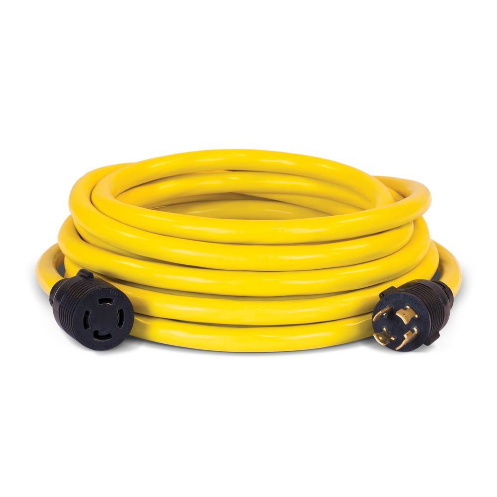 hight resolution of champion power equipment 25 ft nema l14 30p to l14 30r generator cord