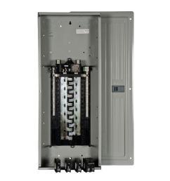 siemens es series 200 amp 30 space 54 circuit main breaker load center value [ 1000 x 1000 Pixel ]
