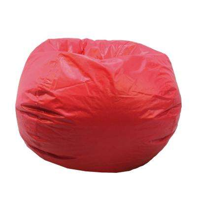 bing bag chairs mission style bean the home depot red vinyl