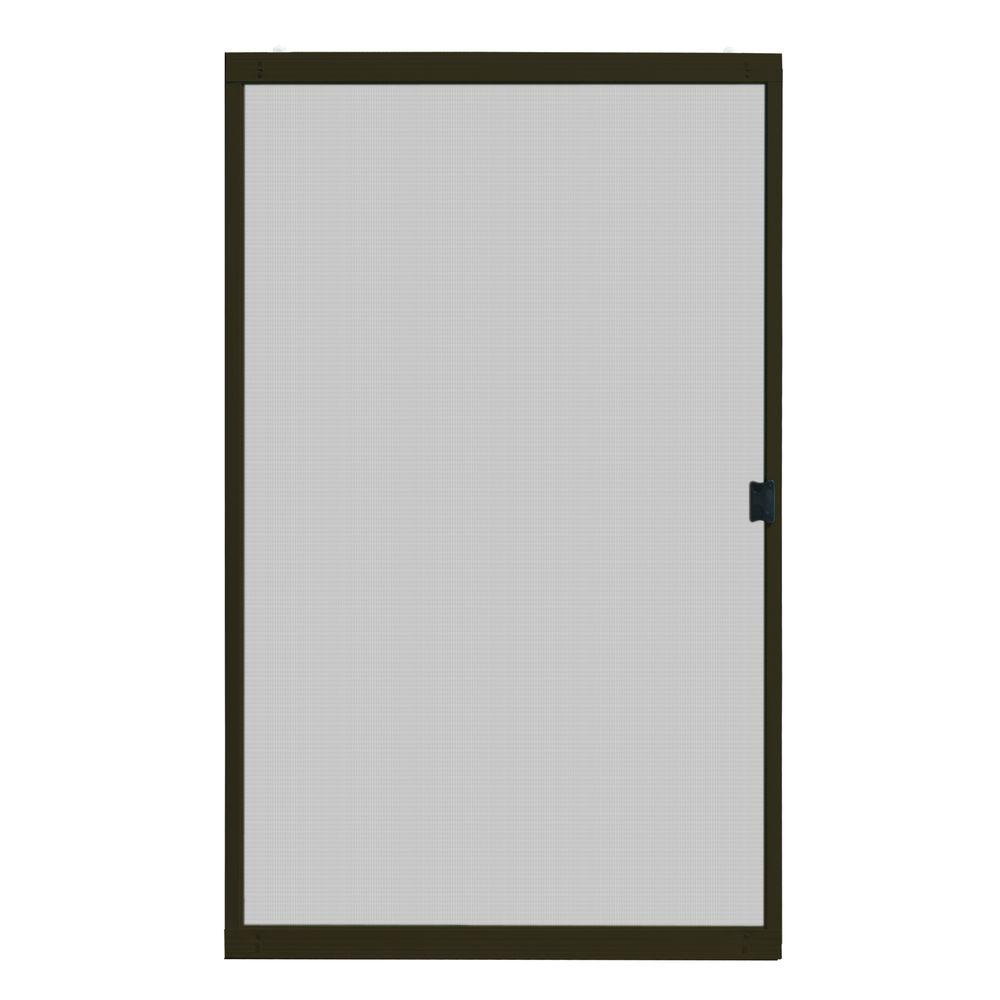 Unique Home Designs 48 in. x 80 in. Standard Bronze Metal