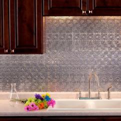 Stick On Backsplash Tiles For Kitchen Cabinet Stores Fasade 24 In. X 18 Lotus Pvc Decorative Tile ...