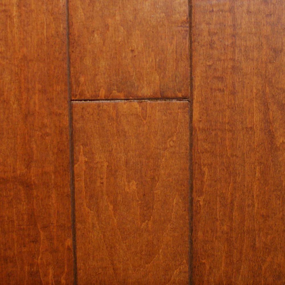 Millstead Hand Scraped Maple Nutmeg 38 In Thick X 434