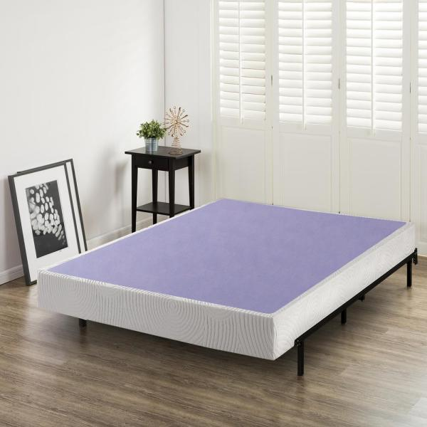 Zinus 8 In. Profile Full Wooden Box Spring-hd-wdbs-8f - Home Depot