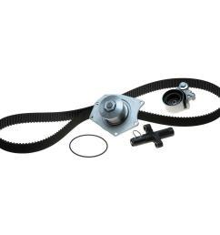 powergrip premium oe timing belt component kit w water pump [ 1000 x 1000 Pixel ]