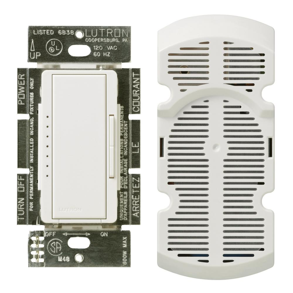 hight resolution of lutron maestro 1 amp multi location 7 speed fan control white