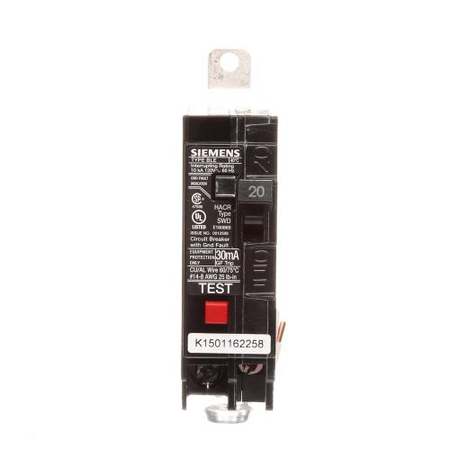 small resolution of 20 amp single pole 10 ka type ble gfi circuit breaker