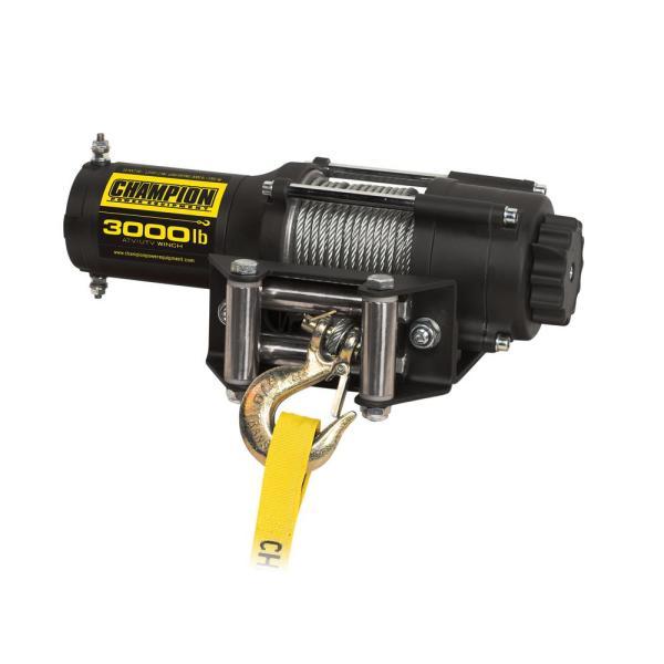 3000 Lb Winch Champion Power Equipment