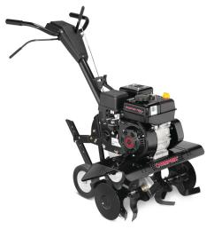 troy bilt colt xp 24 in 208 cc ohv engine front tine forward rotating gas tiller with adjustable tilling width and reverse gear [ 1000 x 1000 Pixel ]