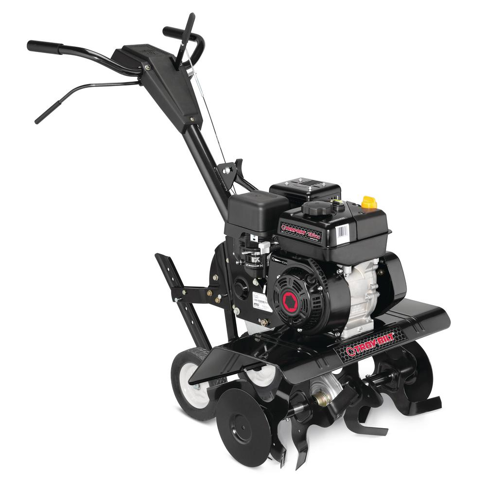 hight resolution of troy bilt colt xp 24 in 208 cc ohv engine front tine forward rotating gas tiller with adjustable tilling width and reverse gear