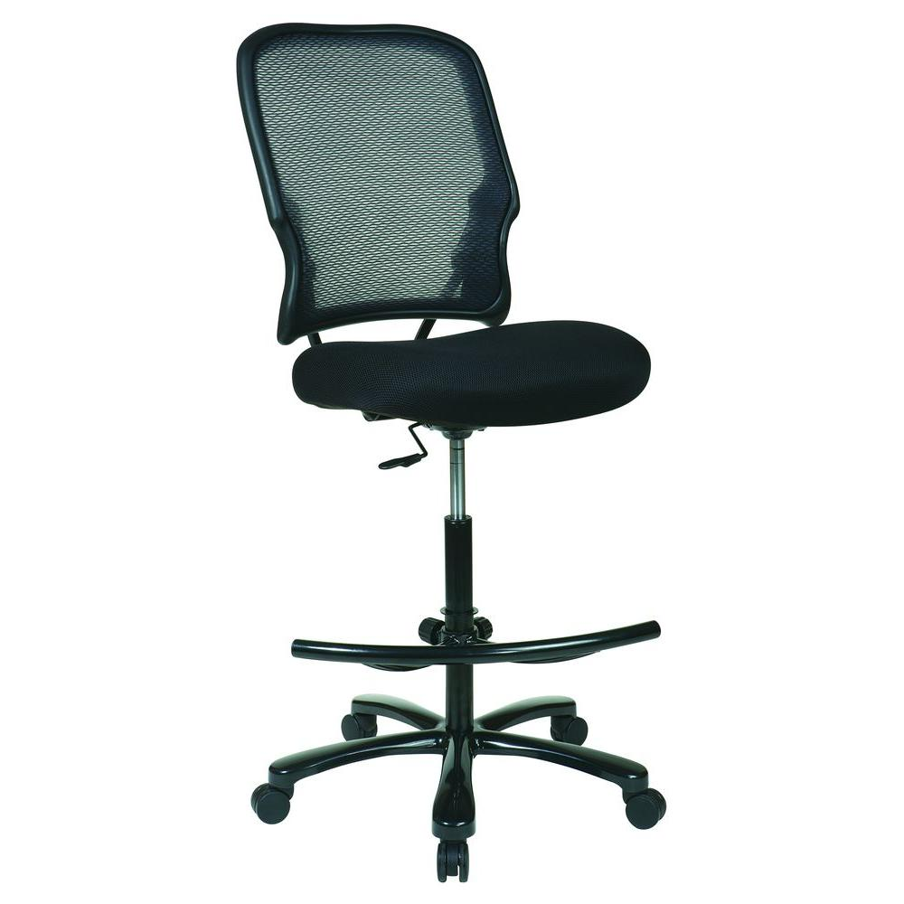 drafting chairs with arms ergonomic chair deals space seating black big man s 15 37a720d the home depot