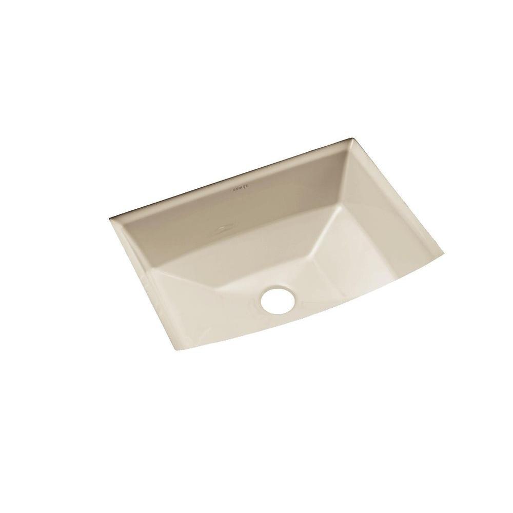 KOHLER Archer Vitreous China Undermount Bathroom Sink with