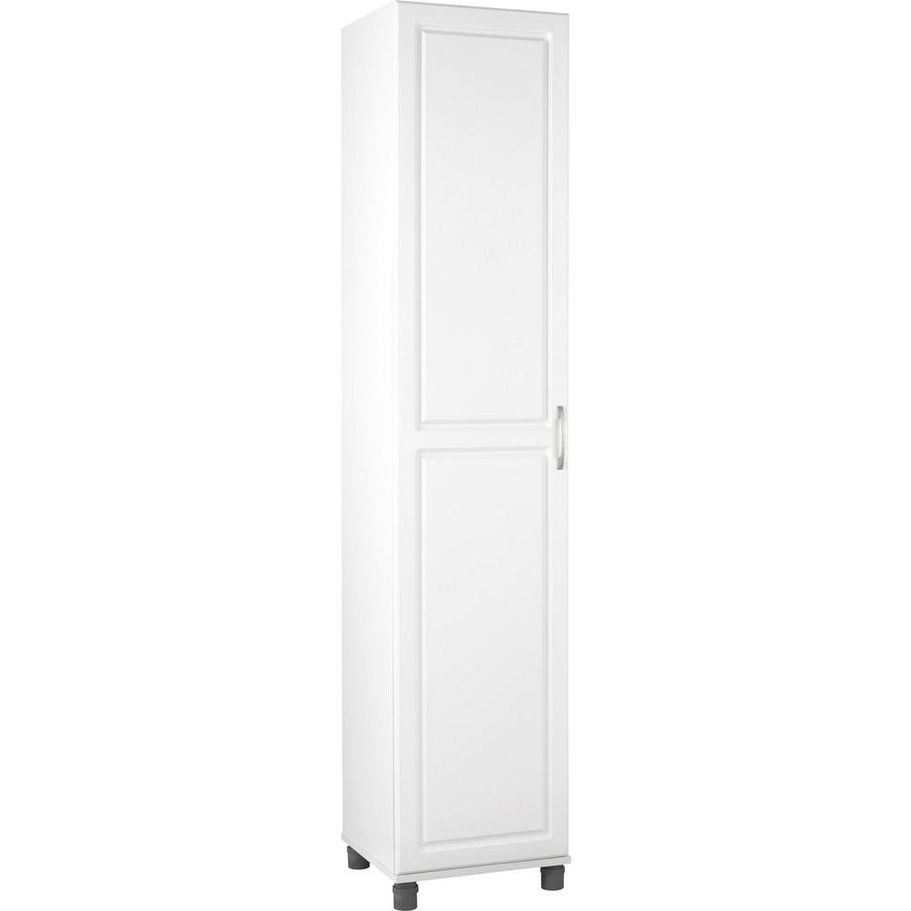 Ameriwood Home Trailwinds 16 in White Storage CabinetHD47154  The Home Depot