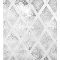 Artscape 24 in. W x 36 in. H Diamond Glass Decorative ...