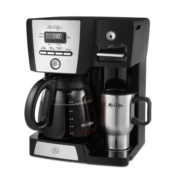 Coffee 12-cup Versatile Brew Programmable Maker And Hot Water Dispenser-bvmc-dmx85-rb