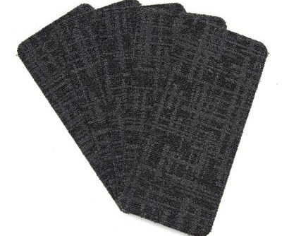 Stair Tread Covers Rugs The Home Depot | 36 Inch Carpet Stair Treads | Basement Stairs | Slip Resistant | Coffee Brown | Diamond Trellis | Bullnose Carpet
