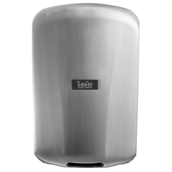 Thinair 110-volt 120-volt Ada Compliant Surface Mounted Electric Hand Dryer With Brushed