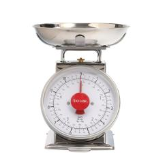 Kitchen Scales Adding Shelves To Cabinets Taylor Analog Scale In Stainless Steel 371021 The Home Depot