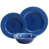 Cobalt Blue Dinnerware & Pyrex Cobalt Blue Glass Ringed ...