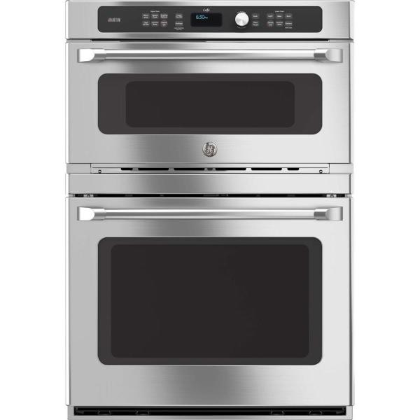 Ge 30 In. Double Electric Wall Oven -cleaning Lower With Convection In Stainless