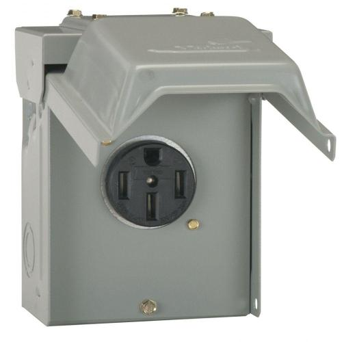 small resolution of ge 50 amp temporary rv power outlet