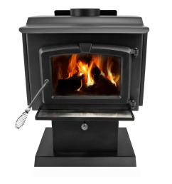 epa certified wood burning stove with small blower [ 1000 x 1000 Pixel ]