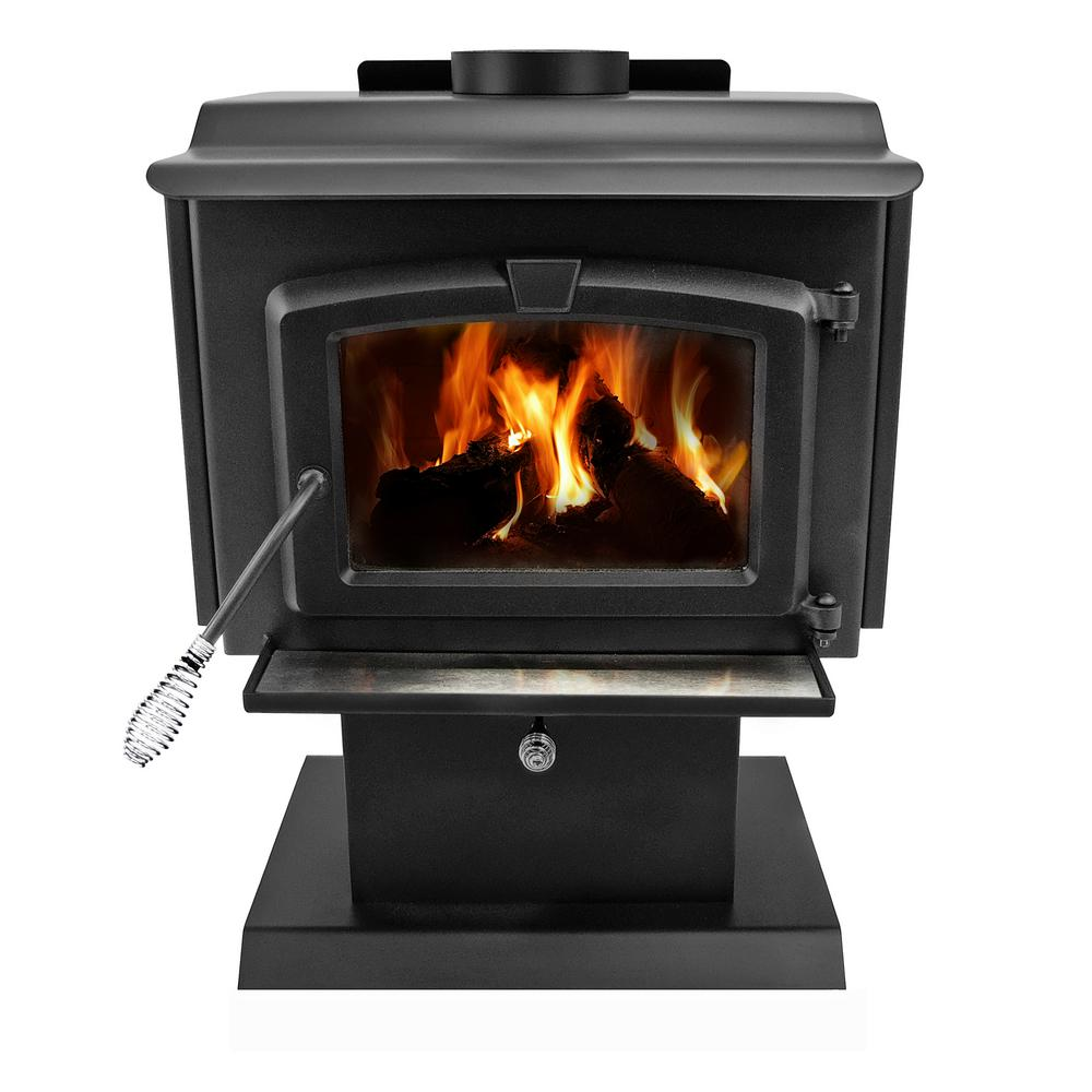 hight resolution of epa certified wood burning stove with small blower