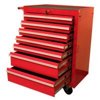 Excel 27 in. 7-Drawer Roller Cabinet Tool Chest, Red ...