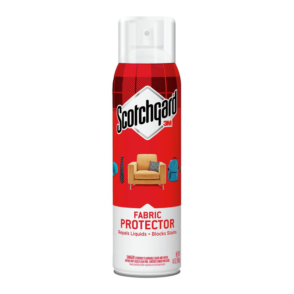 cloth sofa cleaning products plastic feet replacement uk scotchgard 14 oz fabric and upholstery protector 4106 the home