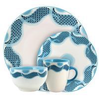 Rachael Ray Cucina Dinnerware 16-Piece Stoneware ...