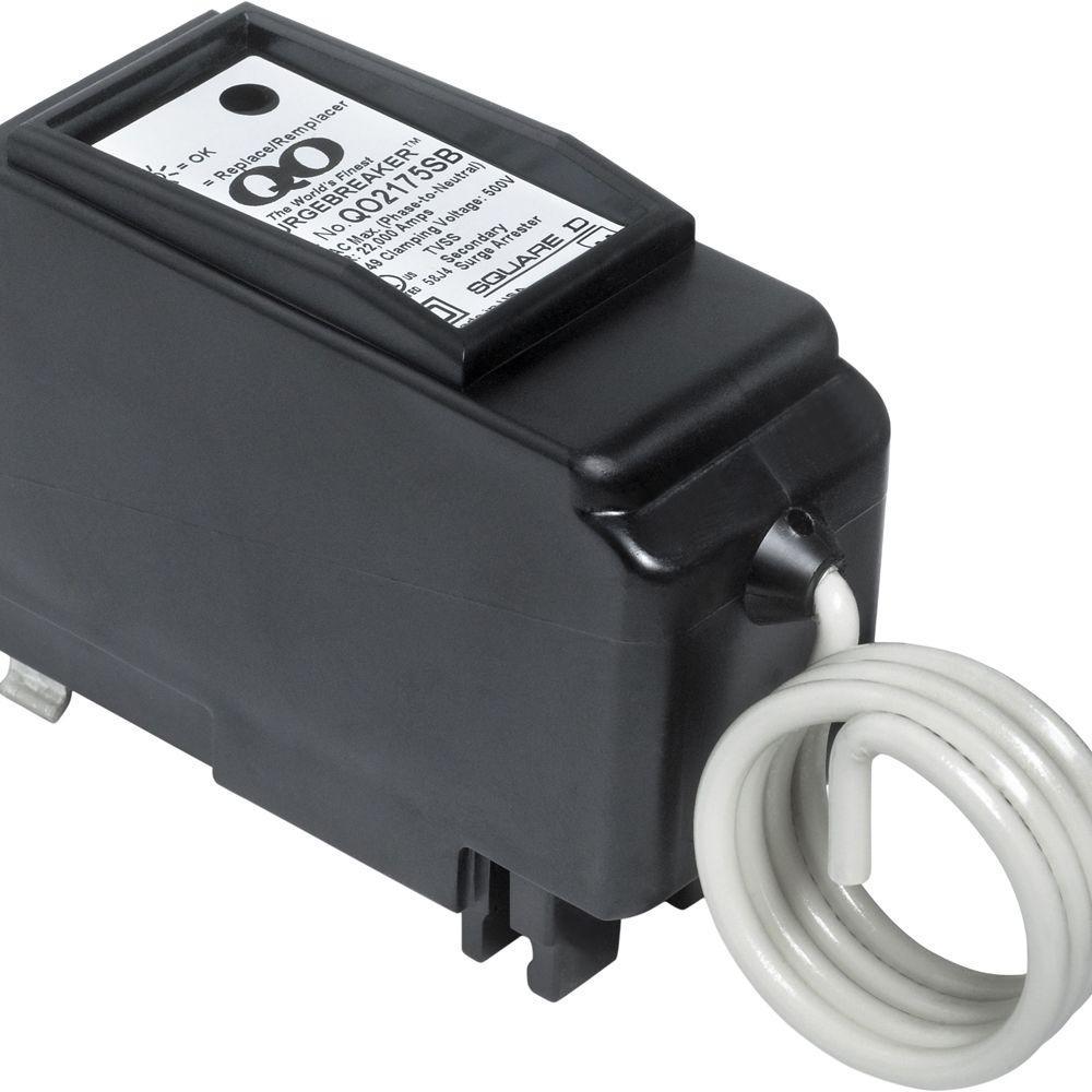 medium resolution of square d qo 22 5 ka 2 pole surgebreaker surge protective device