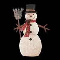 Home Accents Holiday 72 in. LED Lighted PVC Cotton String ...