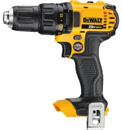 dewalt 20 volt max lithium ion cordless compact drill drill driver tool [ 1000 x 1000 Pixel ]