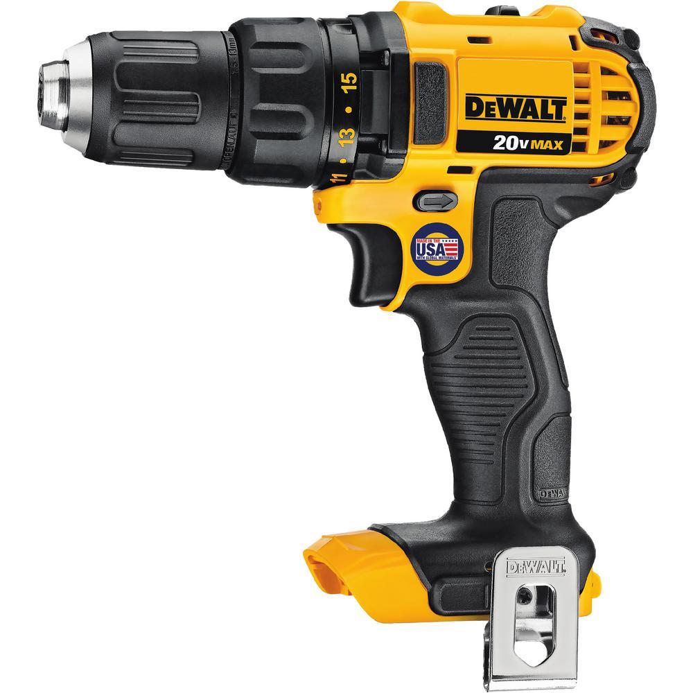medium resolution of dewalt 20 volt max lithium ion cordless compact drill drill driver tool