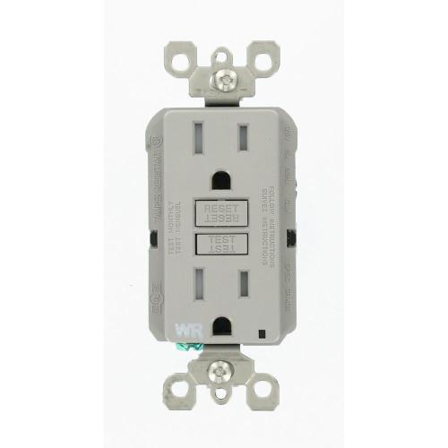 small resolution of leviton 15 amp 125 volt duplex self test tamper resistant weather leviton gfci outlet wiring diagram emprendedorlink