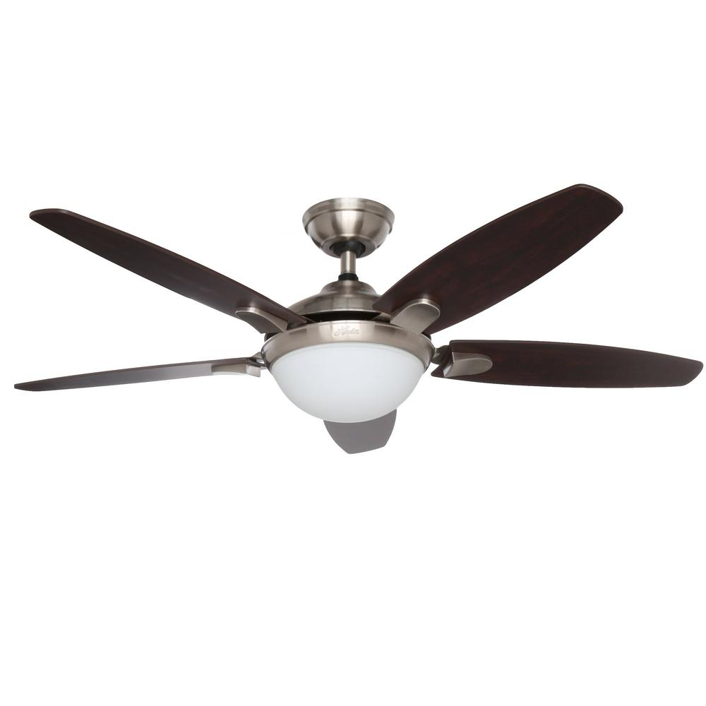 hunter fan wiring diagram remote control tooth anatomy contempo 52 in indoor brushed nickel ceiling with universal and light