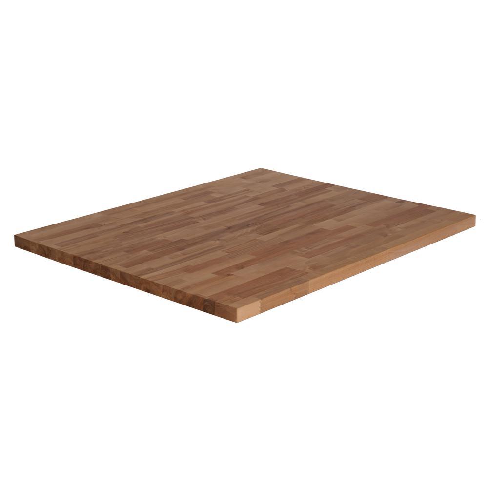 74inx39inx15in Wood Butcher Block Countertop In