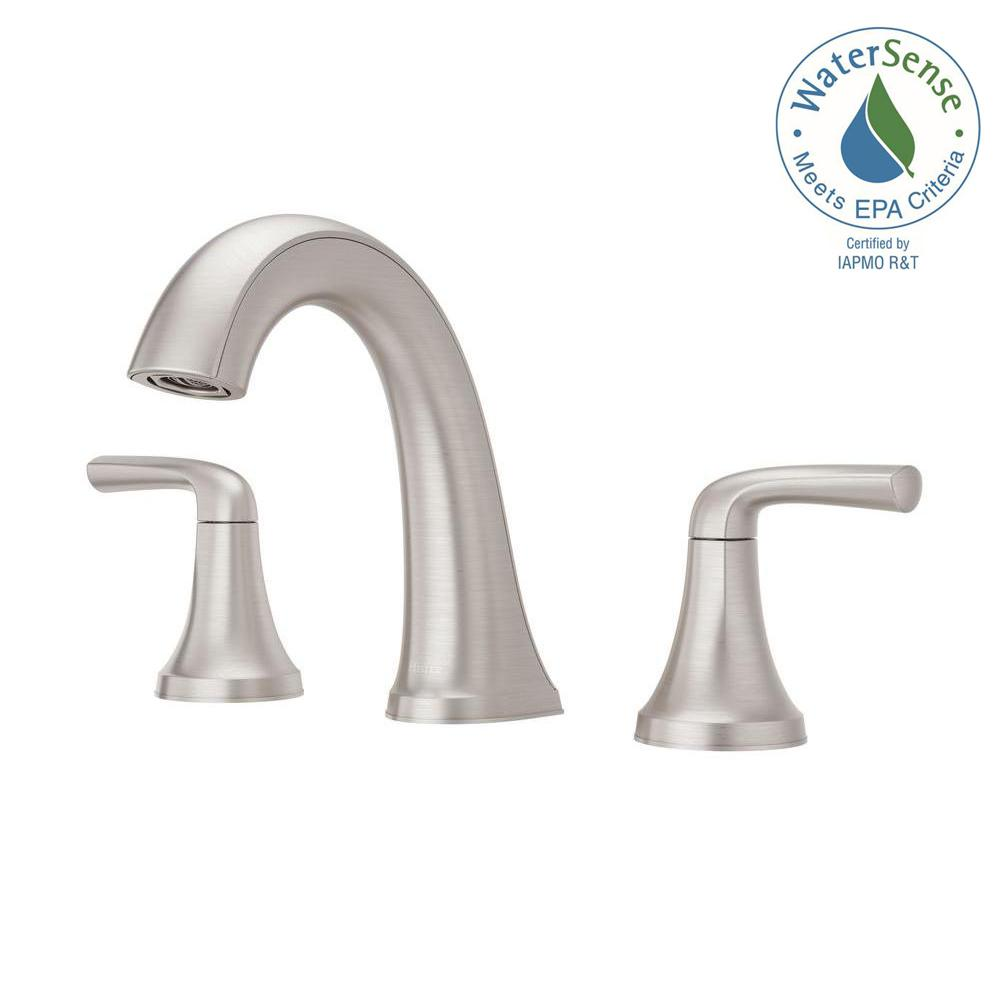 Ideas Bathroom Sink Faucets Pfister Ladera 8 In Widespread 2 Handle Bathroom Faucet In Spot