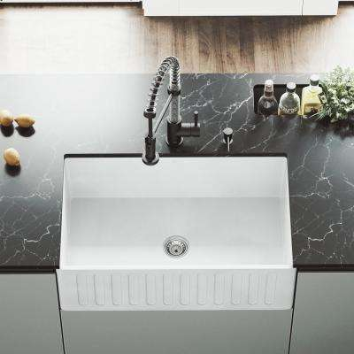 farmers kitchen sink brushed stainless steel undermount farmhouse apron sinks the home depot matte stone composite 30 in single bowl