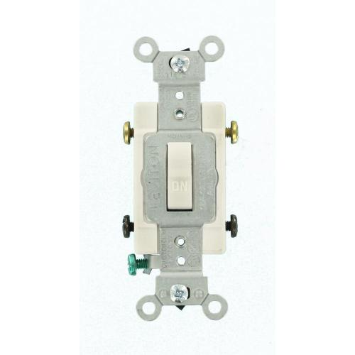 small resolution of 15 amp commercial grade double pole toggle switch white