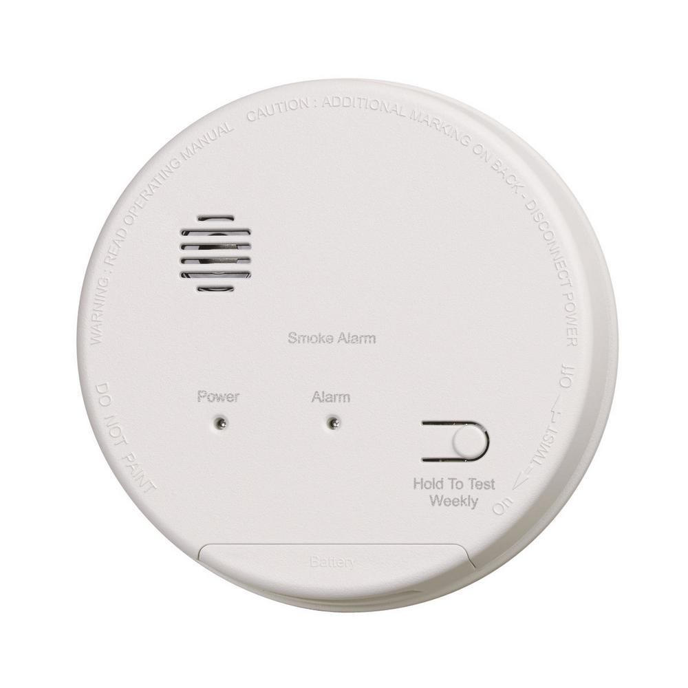 medium resolution of hardwired interconnected photoelectric smoke alarm with dualink and battery backup