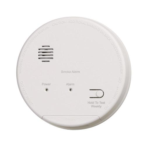 small resolution of hardwired interconnected photoelectric smoke alarm with dualink and battery backup