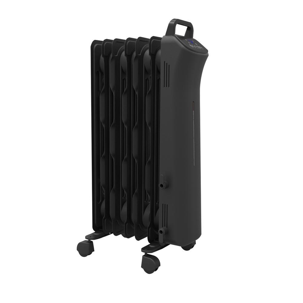 medium resolution of 1 500 watt digital eco fin oil filled radiator with 7 fins
