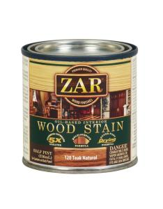 Teak natural wood interior stain pack also zar  waterproofing the home depot rh homedepot