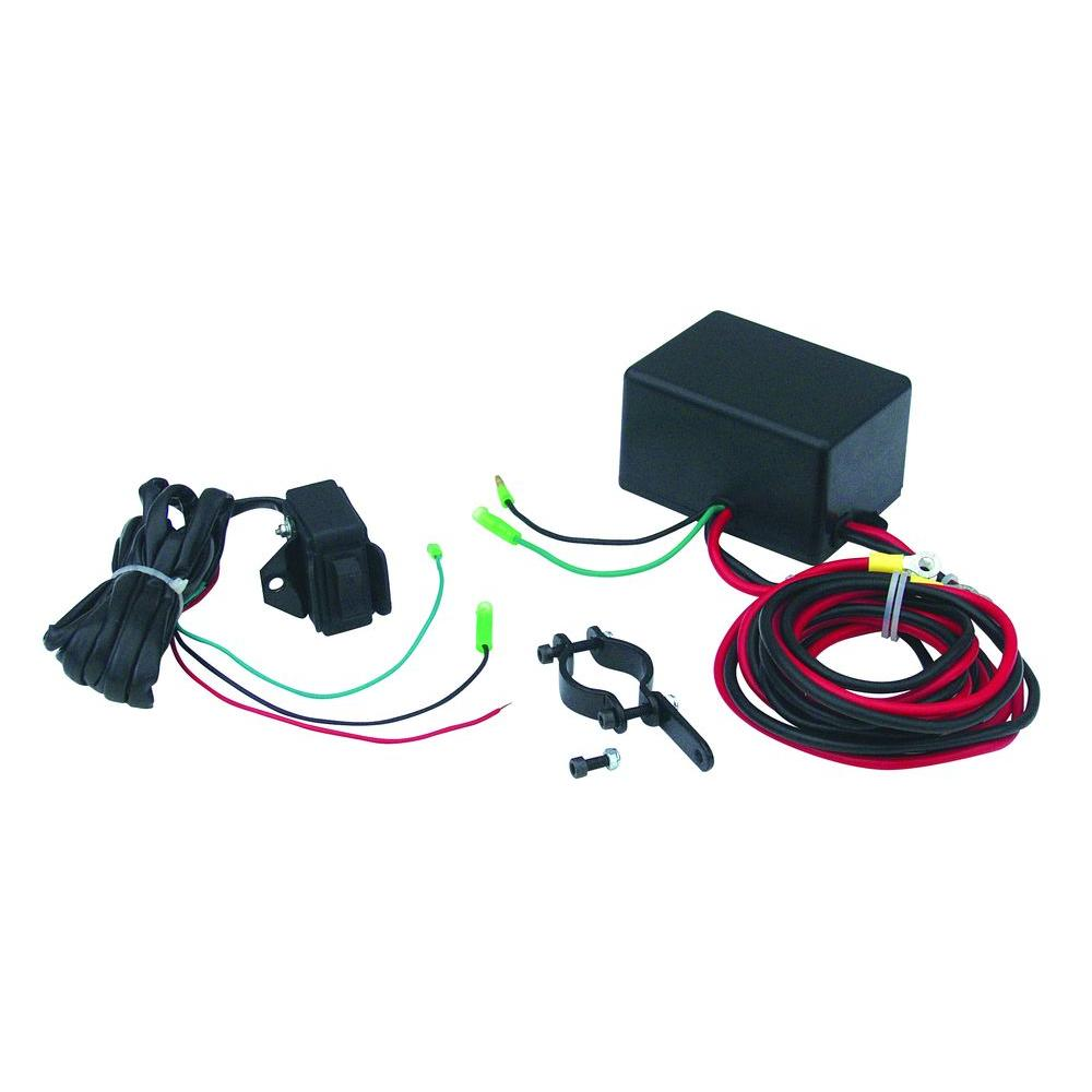 medium resolution of superwinch lt2000 atv winch switch upgrade kit with handlebar mountable switch and solenoid 2320200 the home depot