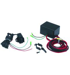 superwinch lt2000 atv winch switch upgrade kit with handlebar mountable switch and solenoid [ 1000 x 1000 Pixel ]