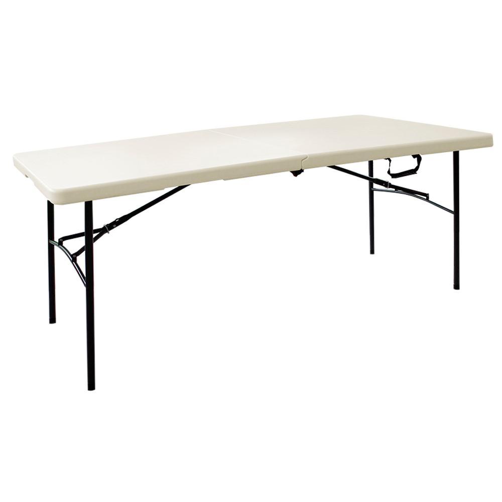 HDX Earth Tan Folding TableTA3072FX06  The Home Depot