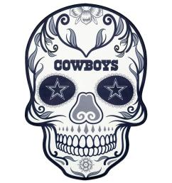nfl dallas cowboys outdoor skull graphic large [ 1000 x 1000 Pixel ]
