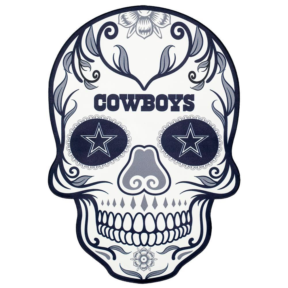 medium resolution of nfl dallas cowboys outdoor skull graphic large