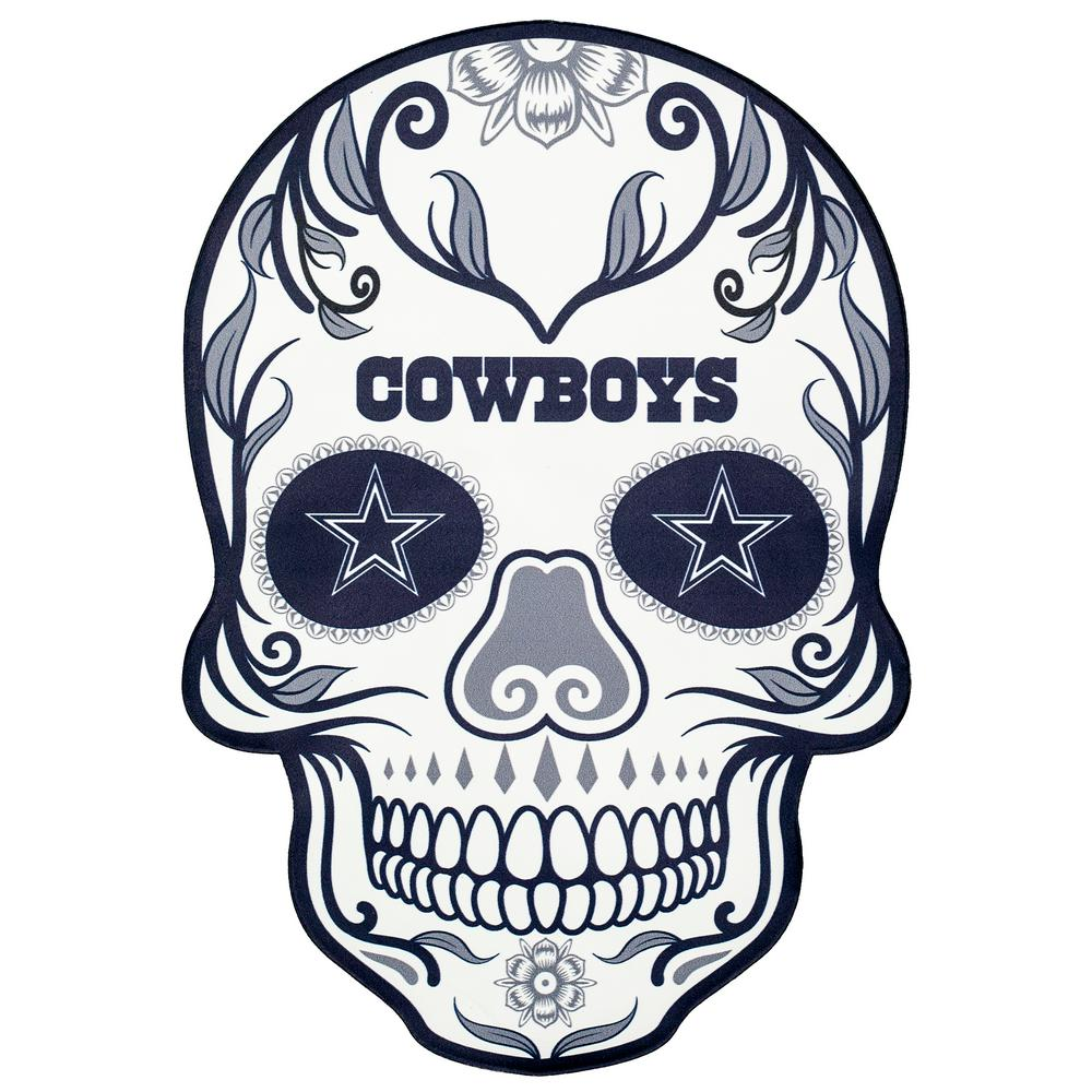 hight resolution of nfl dallas cowboys outdoor skull graphic large