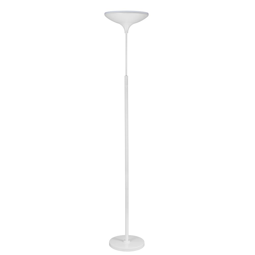 Globe Electric Floor Lamps Lamps The Home Depot